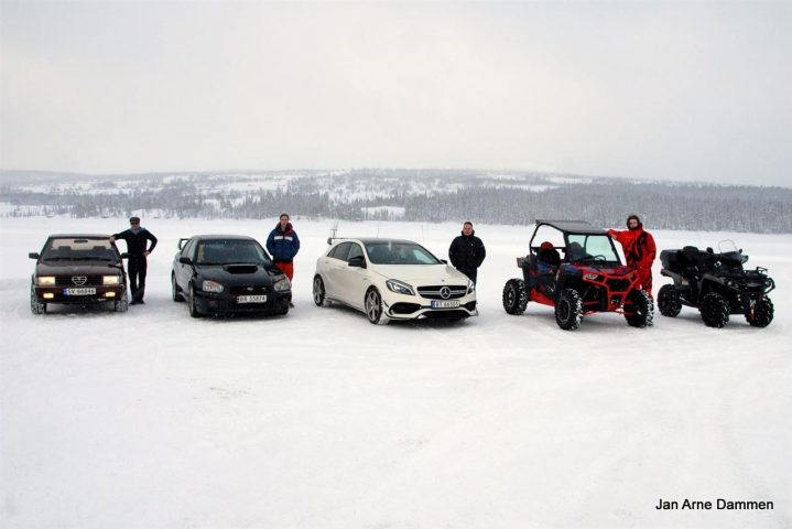 Vintercamp biler