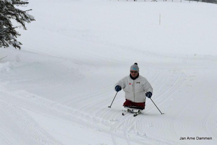 Vintercamp ski